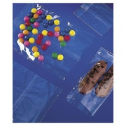 """Polypropylene 14.75""""H x 6""""W x 3.75""""D Side Gusseted Food Bags, Clear, 100/Pack"""