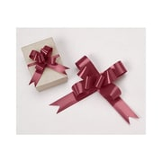 """2"""" Butterfly Bows, Burgundy"""