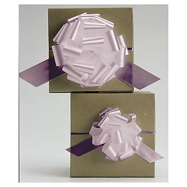 Nœuds en satin parfaitement dénouables de 4 po, rose pâle, 50/paquet
