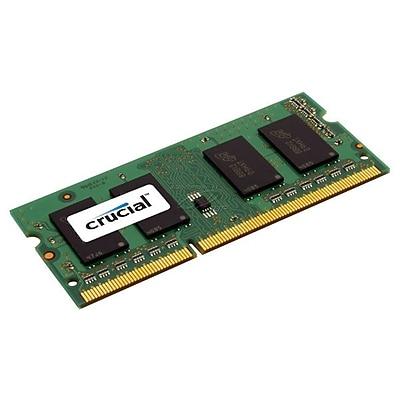 Crucial 8 GB RAM, DDR3 204-Pin Laptop Memory Module