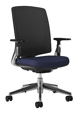 HON Lota Task/Computer Chair, Fabric, Navy, Seat: 19 1/2