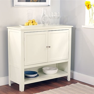 TMS Montego Engineered Wood Buffet, Antique White