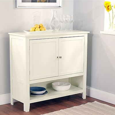 TMS Montego Engineered Wood Buffet; Antique White