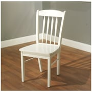 TMS Savannah Rubberwood Side Chairs