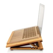 "Macally Bamboo Cooling Notebook Adjustable Stand, 39-1/4"" Length"