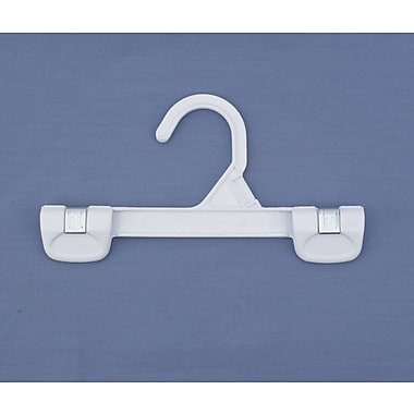 Plastic Snap Grip Hook Skirt/Slack Hanger, White, 8
