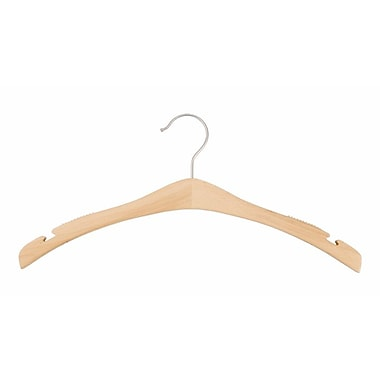 Wood Signature Top Hanger, Low Gloss Natural, 17