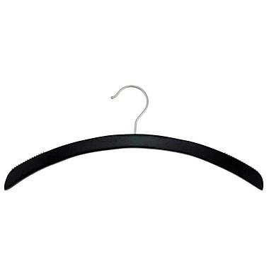 Wood Retro Top Hanger, Low Gloss Black, 16