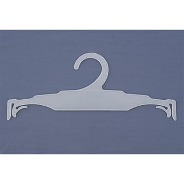 NAHANCO 10  Molded Polystyrene Hi Impact Intimate Lingerie Hanger, White, 500/Pack,Size: small