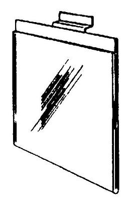 Acrylic Slatwall Sign Holder, 5 1/2