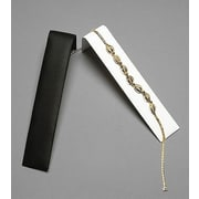 Velvet Necklace/Bracelet Ramp Display, Black