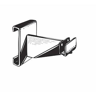 Rectangular Tubing Hangrail Bracket, Black, 4