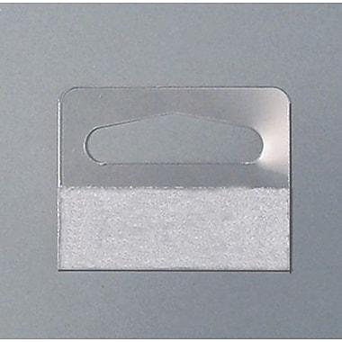 NAHANCO Wide Pressure Sensitive Package Hanger, 500/Pack, 500/Pack
