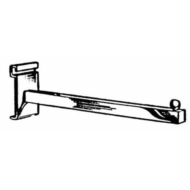 Square Tubing Faceout, Chrome, 12