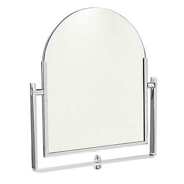 Econoco 1016 Double-Sided Counter Rectangular Mirror, Chrome, 10