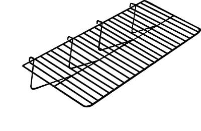 Econoco GWEC/2412 Gridwall Straight Shelf, 12