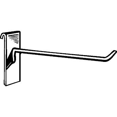 Crochet de 4 po pour panneau grillagé, blanc