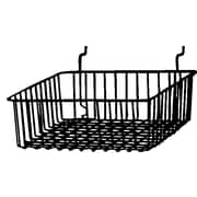 Econoco BSK13/B Small Basket, Black, Semi-Gloss