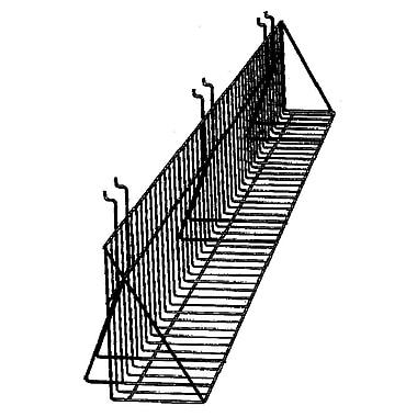 Slatwall/Gridwall Wire Video Shelf, 24