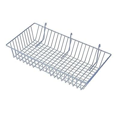 Slatwall/Gridwall Wire Baskets, 24