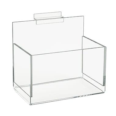 Econoco FF/AD2024 Single Hosiery Bin, Clear, Acrylic/Polymer