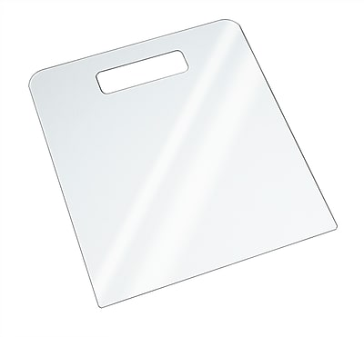 Econoco Acrylic Clear Folding Board, Large, 6/Pack