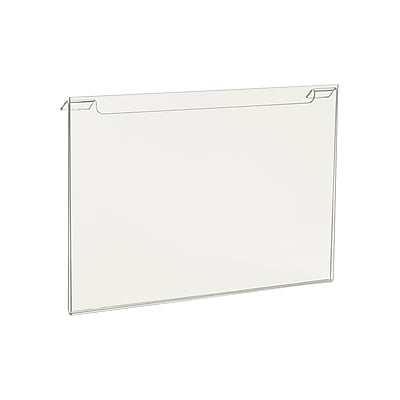 Econoco HP/SG711H Acrylic Horizontal Sign Holder, Clear, 7