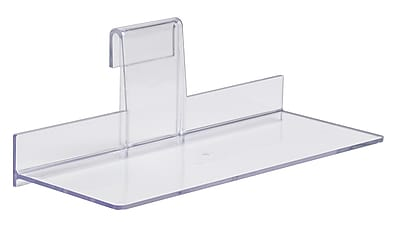 Econoco JGR410/ST Injection Molded Styrene Shoe Shelf, 4