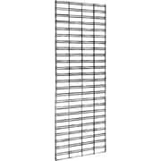 Econoco P3STG25B Slatgrid Panel, Black, 5' x 2'