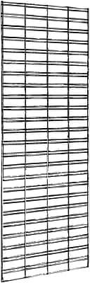 Econoco P3STG25W Slatgrid Panel, White, 5' x 2'