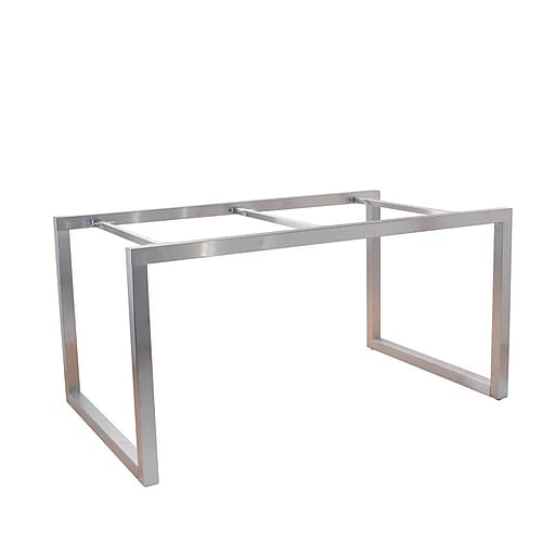econoco t501frsc alta 60 x 36 x 30 system large display table