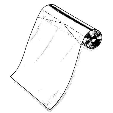Econoco U372 Clear Bag, 24