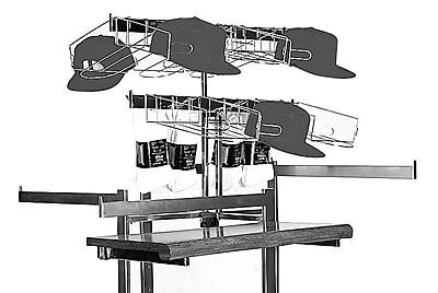 Econoco VM55 T-Style Rack Topper, 27