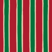 "Shamrock 24""W Christmas Stripe/Kraft Gift Wrap"