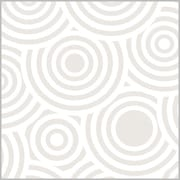 "Shamrock 24""W Pearl Ripples Gift Wrap, White"