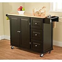 TMS Three Drawer Kitchen Cart