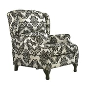 TMS Wing Wood/Fabric Recliner, Floral