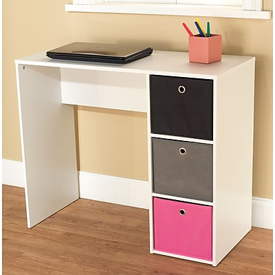 TMS Standard Writing Desk, Multi (96614WHT)
