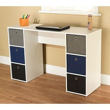 TMS Standard Writing Desk, Multi (96615WHT)