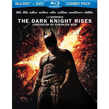 The Dark Knight Rises (BRD + DVD)