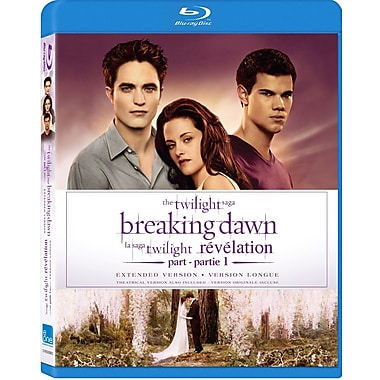 Twilight Saga: Breaking Dawn Part 1 Extended Edition (BLU-RAY DISC)