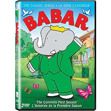 Babar The Classic Series Season 1 (DVD)