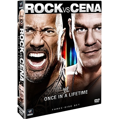 Wwe 2012 - The Rock Vs. John Cena - Once In A Lifetime (DVD)