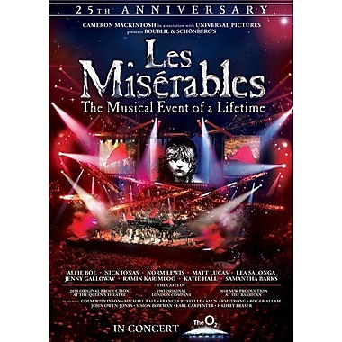 Les Miserables: The Music Event Of A Lifetime (DVD)