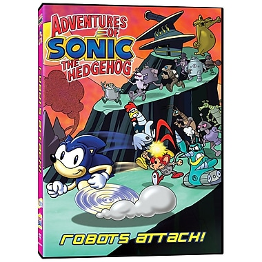 Adventures Of Sonic The Hedgehog - Robots Attack! (DVD)