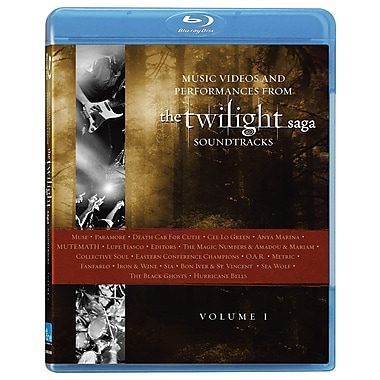 Twilight Saga: Music Videos And Performances From The Soundtracks: Volume 1 (DISQUE BLU-RAY)