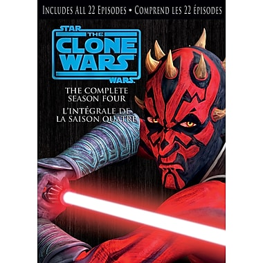 Star Wars Clone Wars: Season 4 (DVD)