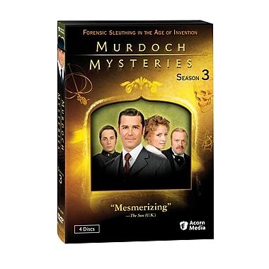 Murdoch Mysteries: Season 3 (DVD)
