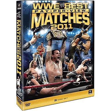 WWE 2011: The Best Pay Per View Matches Of 2011 (DVD)