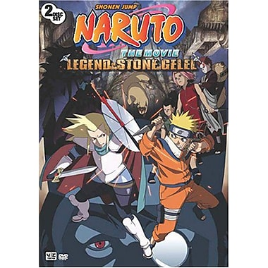 Naruto The Movie: Legend Of The Stone Of Gelel (DVD)